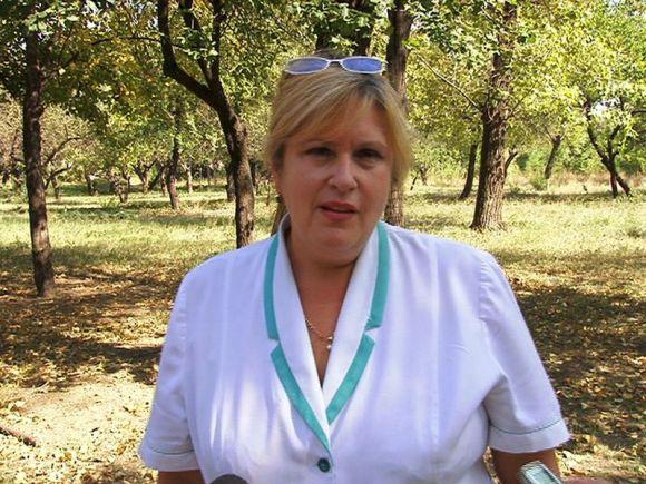 Заведующая неврологическим отделением 11-й городской больницы Наталья Клименко